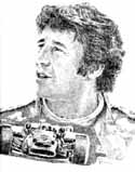 Mario Andretti Auto Racing Limited Edition Lithograph By Don Leo