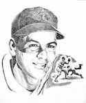 Lou Boudreau Cleveland Indians Limited Edition Lithograph By Don Leo