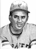 Roberto Clemente Pittsburgh Pirates Limited Edition Lithograph By Don Leo