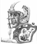 Dan Marino Miami Dolphins Limited Edition Lithograph By Don Leo
