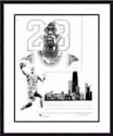 Michael Jordan Chicago Bulls Limited Edition Lithograph