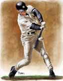 11 X 14 Derek Jeter New York Yankees Limited Edition Giclee Series #1