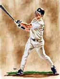 11 X 14 Don Mattingly New York Yankees Limited Edition Giclee Series #1