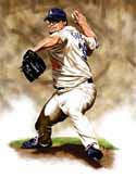 13 X 17 Eric Gagne Los Angeles Dodgers Limited Edition Giclee Series #1