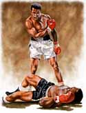 11 X 14 Muhammad Ali Boxing Limited Edition Giclee Series #1