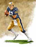 8 X 10 Dan Marino Pittsburgh Panthers Limited Edition Giclee Series #1