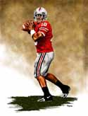 8 X 10 Troy Smith Ohio State Buckeyes Limited Edition Giclee Series #1