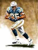 11 X 14 Antonio Gates San Diego Chargers Limited Edition Giclee Series #1