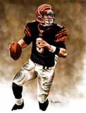 11 X 14 Carson Palmer Cincinnati Bengals Limited Edition Giclee Series #1