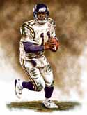 11 X 14 Daunte Culpepper Minnesota Vikings Limited Edition Giclee Series #1