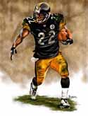 11 X 14 Duce Staley Pittsburgh Steelers Limited Edition Giclee Series #1