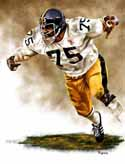 11 X 14 Joe Greene Pittsburgh Steelers Limited Edition Giclee Series #1