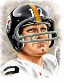 11 X 14 Terry Bradshaw Pittsburgh Steelers Limited Edition Giclee Series #4