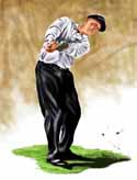 8 X 10 Phil Mickelson Golf Limited Edition Giclee Series #1