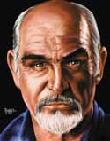 11 X 14 Sean Connery Limited Edition Giclee Series #1