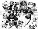 Pittsburgh Steelers Offense Limited Edition Lithograph