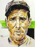 Hank Greenberg Detroit Tigers Limited Edition Print