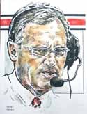 Jim Tressel Ohio State Buckeyes Limited Edition Print