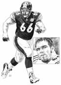 Alan Faneca Pittsburgh Steelers Limited Edition Lithograph