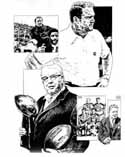 Chuck Noll/Art Rooney Pittsburgh Steelers Limited Edition Lithograph