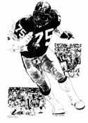 Joe Greene Pittsburgh Steelers Limited Edition Lithograph