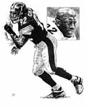 Jason Gildon Pittsburgh Steelers Limited Edition Lithograph