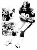 Lynn Swann Pittsburgh Steelers Limited Edition Lithograph