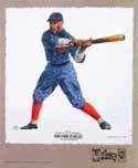 John Henry Lloyd Brooklyn Royal Giants Lithograph