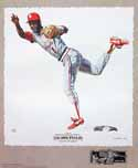 Ozzie Smith St. Louis Cardinals Lithograph