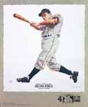 Ralph Kiner Pittsburgh Pirates Lithograph