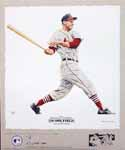 Stan Musial St. Louis Cardinals Lithograph