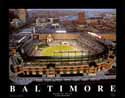 11 X 14 Camden Yards (Night Game) Baltimore Orioles Aerial Print