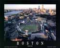 11 X 14 Fenway Park Boston Red Sox Aerial Print