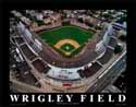 11 X 14 Wrigley Field Chicago Cubs Aerial Print