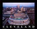 11 X 14 Browns Stadium Cleveland Browns Aerial Print