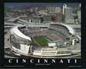 8 X 10 Paul Brown Stadium Cincinatti Bengals Aerial Print