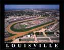 8 X 10 Churchill Downs Kentucky Derby Aerial Print
