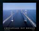 8 X 10 Chesapeake Bay Bridge Aerial Photo