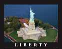 8 X 10 Statue of Liberty Aerial Print