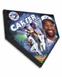 Joe Carter Toronto Blue Jays Home Plate Plaque