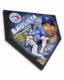 Jose Bautista Toronto Blue Jays Home Plate Plaque
