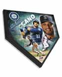 Robinson Cano Seattle Mariners Home Plate Plaque