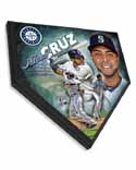 Nelson Cruz Seattle Mariners Home Plate Plaque