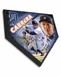 Miguel Cabrera Detroit Tigers Home Plate Plaque