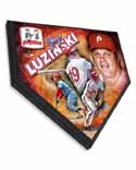 Greg Luzinski Philadelphia Phillies Home Plate Plaque
