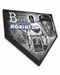 Jackie Robinson Brooklyn Dodger Home Plate Plaque