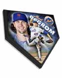 Jacob deGrom New York Mets Home Plate Plaque