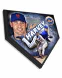 Matt Harvey New York Mets Home Plate Plaque