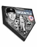 Mickey Mantle New York Yankees Home Plate Plaque