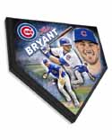 Kris Bryant Chicago Cubs Home Plate Plaque